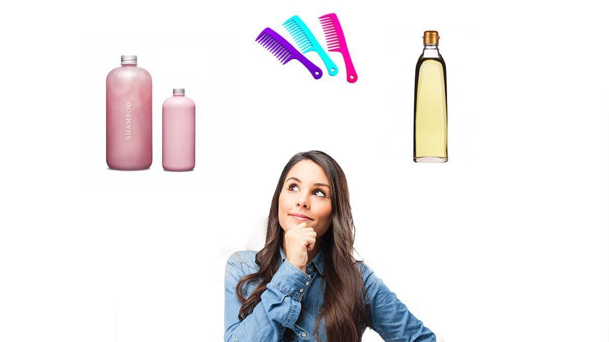 daily routine mein kaise kare apne hair ki care
